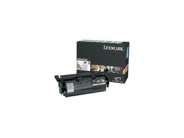 LEXMARK X654X04A X654, X656, X658 Extra High Yield Return Program Print Cartridge for Label Applications