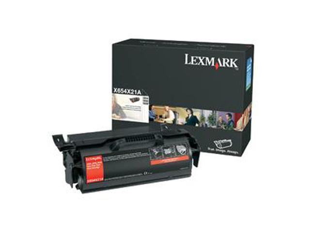 LEXMARK X654X21A X654, X656, X658 Extra High Yield Print Cartridge