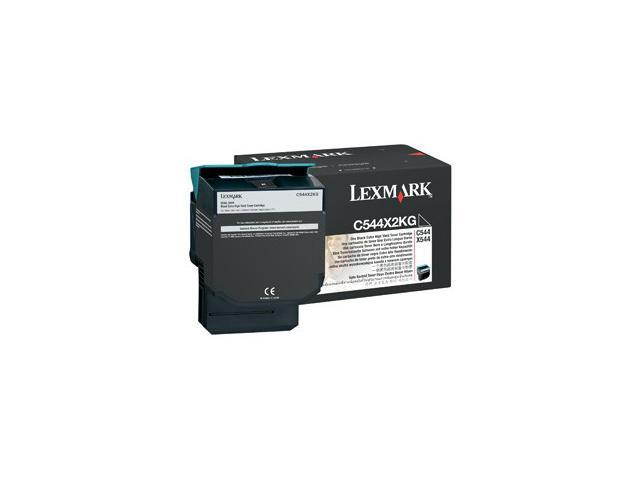 LEXMARK C544X2KG C544, X544 Extra High Yield Toner Cartridge Black