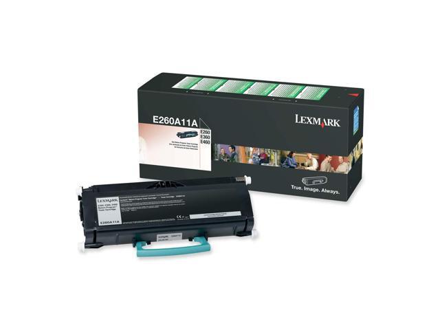 LEXMARK E260A11A Return Program Toner Cartridge Black