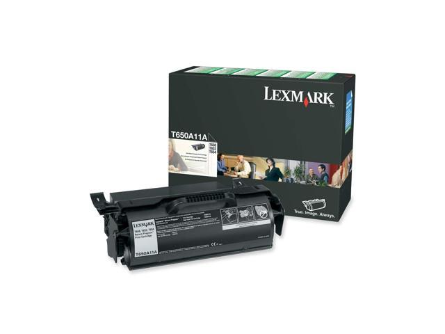 Lexmark T650A11A Toner Cartridge Standard Yield for T65x, T650 printers; Black