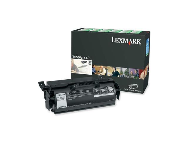 LEXMARK T650A11A T65x Return Program Print Cartridge
