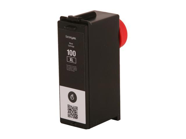 LEXMARK 14N1068 No. 100XL Ink Cartridge Black