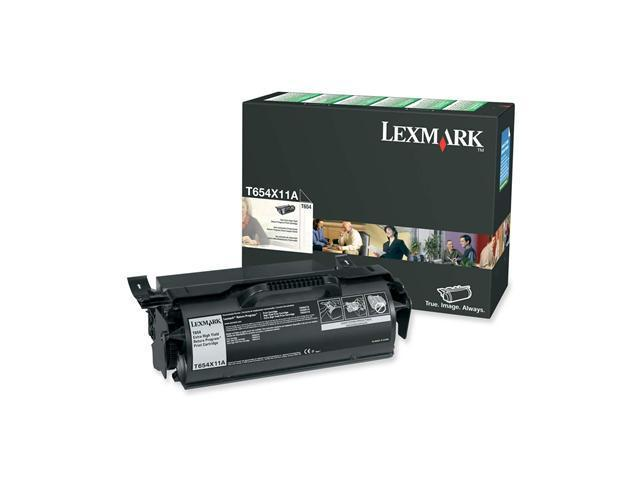 LEXMARK T654X11A Toner Cartridge Black