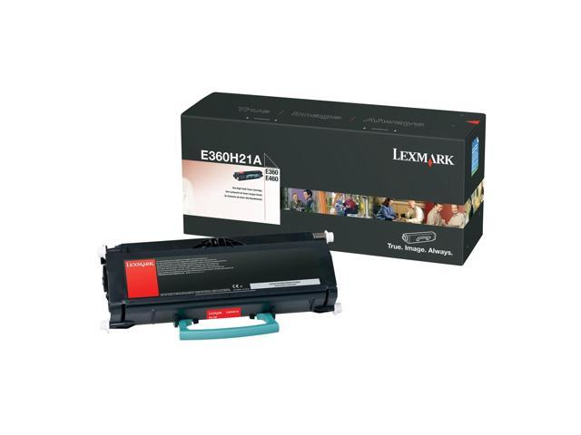 LEXMARK E360H21A High Yield Black Toner Cartridge Black