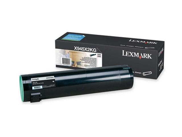 Lexmark X945X2KG High Yield Toner Cartridge - Black