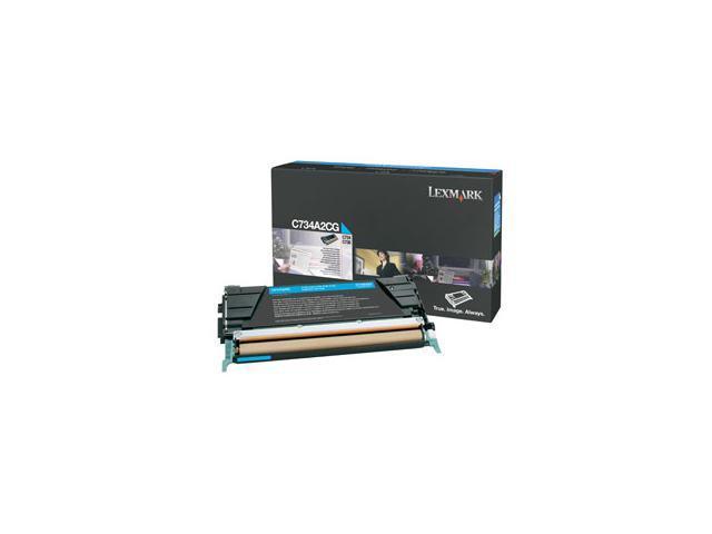 LEXMARK C734A2CG Cartridge Cyan