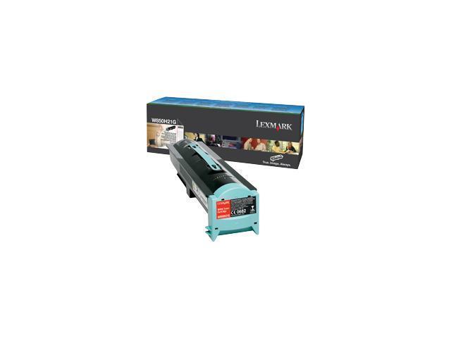 LEXMARK W850H21G High Yield Toner Cartridge Black