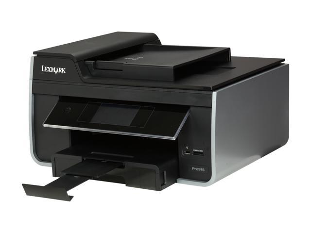 LEXMARK Pro915 Up to 35 ppm Black Print Speed 4800 x 1200 dpi Color Print Quality Wireless Thermal Inkjet MFC / All-In-One Color Printer