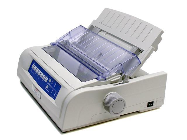 OKIDATA MICROLINE 420 (62418701) - Parallel, USB 9 pin 120V Up to 570cps 240 x 216 Dot Matrix Printer