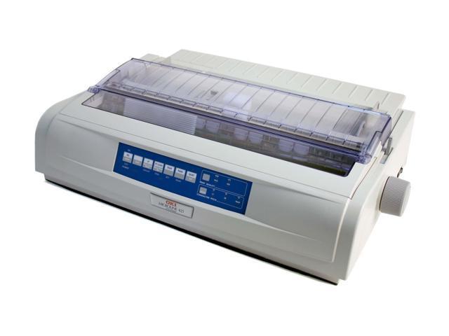 OKIDATA MICROLINE 421 (62418801) 240 x 216 dpi 9 pins Dot Matrix Printer