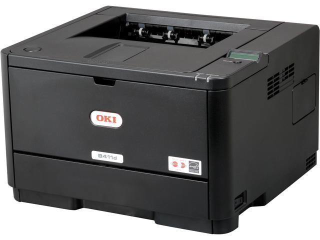 OkiData B411d Monochrome Laser Printer