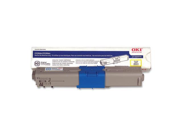 OKIDATA 44469701 Toner Cartridge Yellow