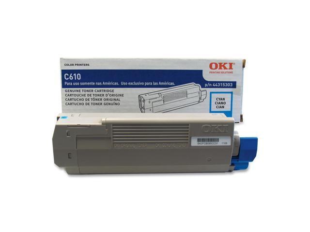 OKIDATA 44315303 Toner Cartridge Cyan