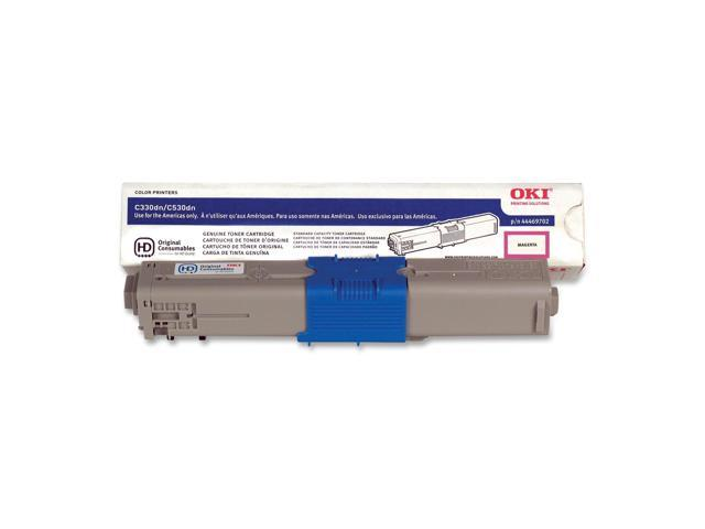 OKIDATA 44469702 Toner Cartridge Magenta