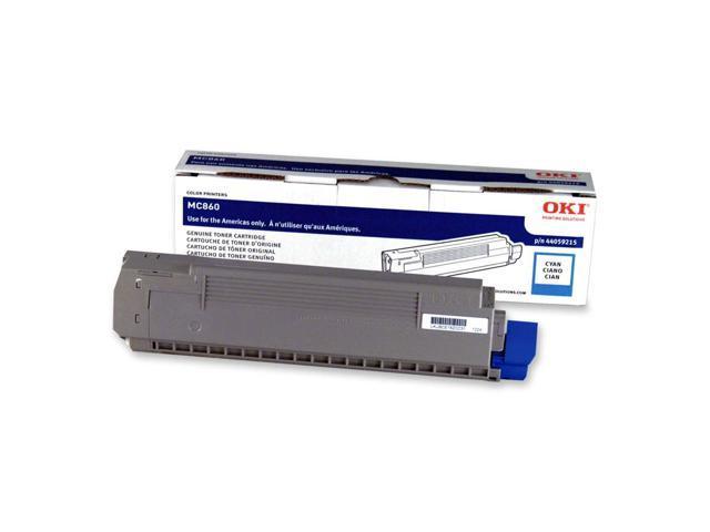 OKIDATA 44059215 Toner Cartridge Cyan