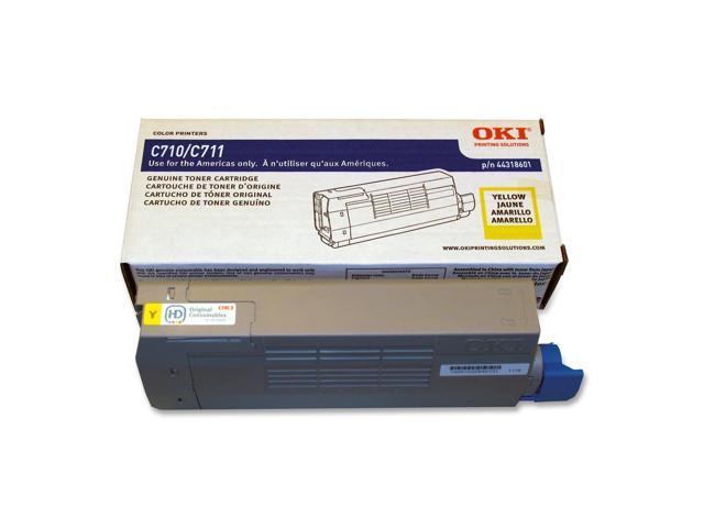 OKIDATA 44318601 Toner Cartridge Yellow