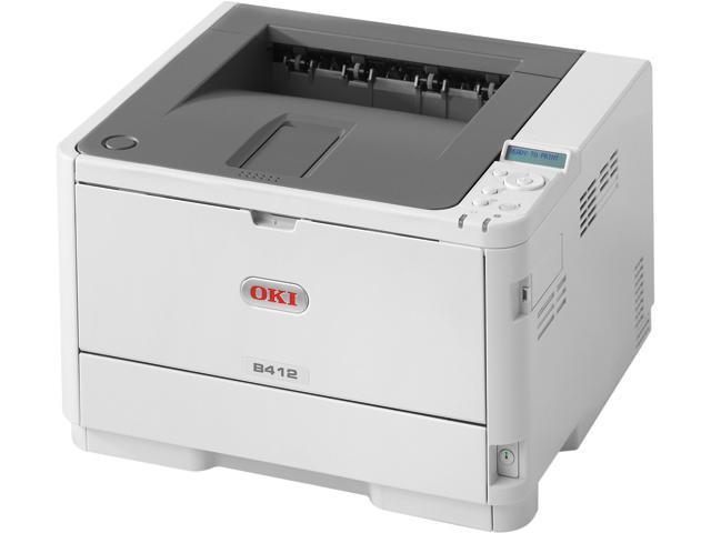 OKIDATA B412dn Workgroup Up to 35 ppm Monochrome Laser Printer