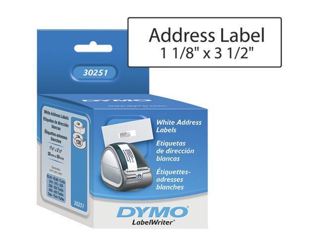 DYMO 30251 White Address Label