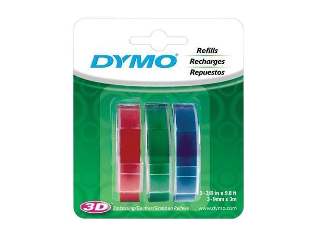 DYMO 1741671 Embossing Label 3/8