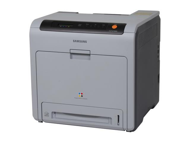 SAMSUNG CLP Series CLP-610ND Workgroup Up to 21 ppm 2400 x 600 dpi Color Laser Printer