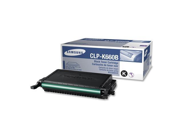 SAMSUNG CLP-K660B Cartridge For CLP-610ND, CLP-660N, CLP-660ND Black