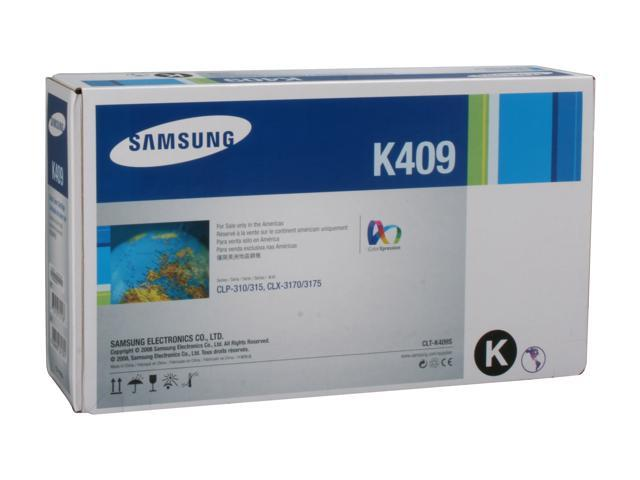 SAMSUNG CLT-K409S, K409 Toner Cartridge Black