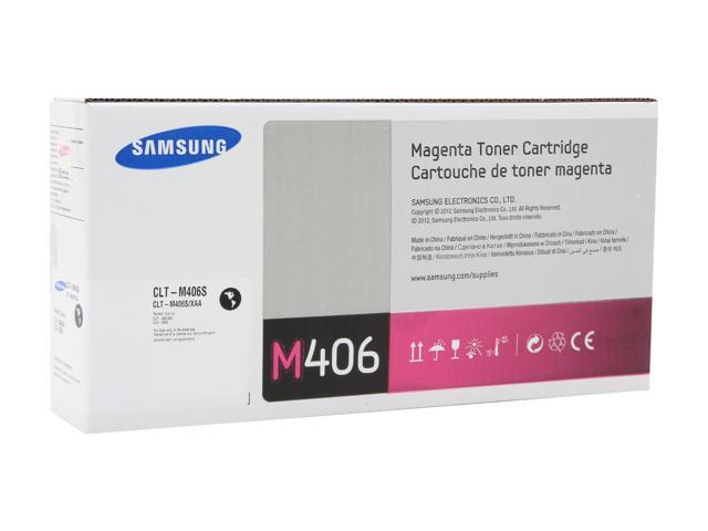 SAMSUNG CLT-M406S Toner cartridge, 1,000 pages yield; Magenta