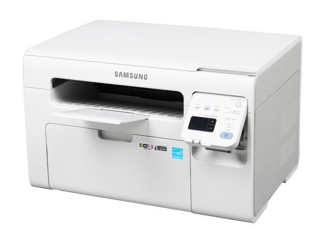 SAMSUNG SCX-3405W All-In-One Laser Printer- Up to 21 ppm Monochrome Wireless 802.11b/g/n