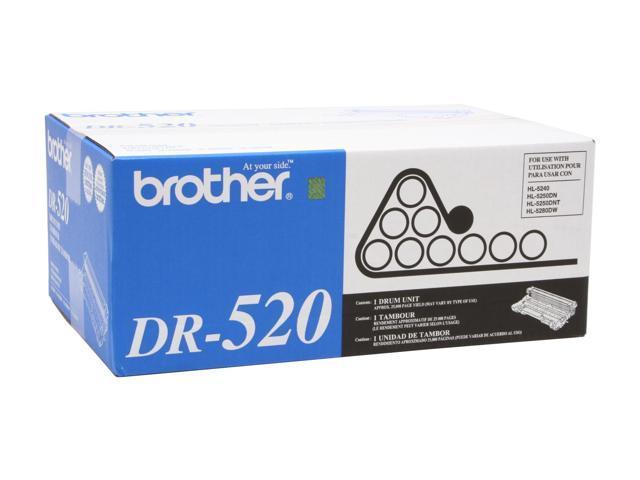 brother DR-520 Laser Toner Drum Black
