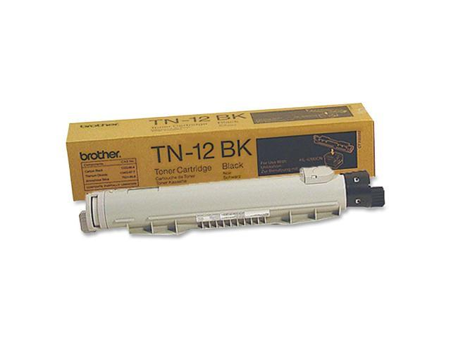brother TN12BK Laser Toner Cartridge Black
