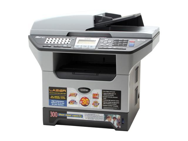 Brother MFC Series MFC-8460N MFC / All-In-One Up to 30 ppm 1200 x 1200 dpi Color Print Quality Monochrome Laser Printer