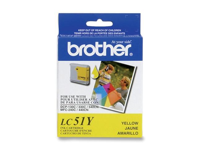 brother LC51YS Cartridge Yellow