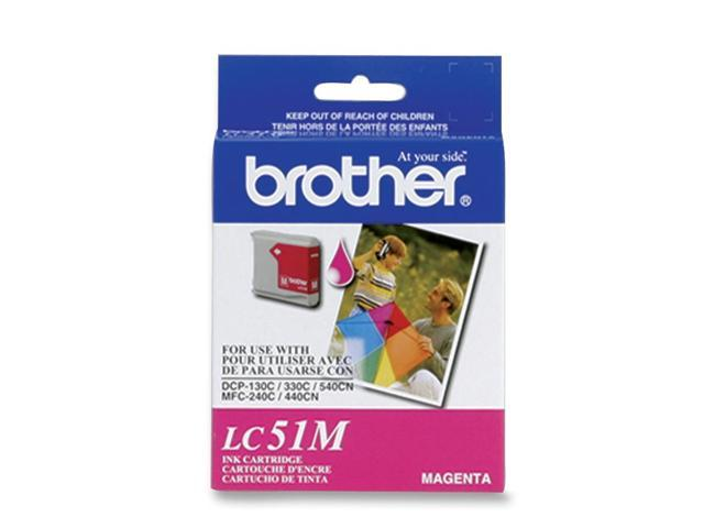 brother LC51MS Cartridge Magenta