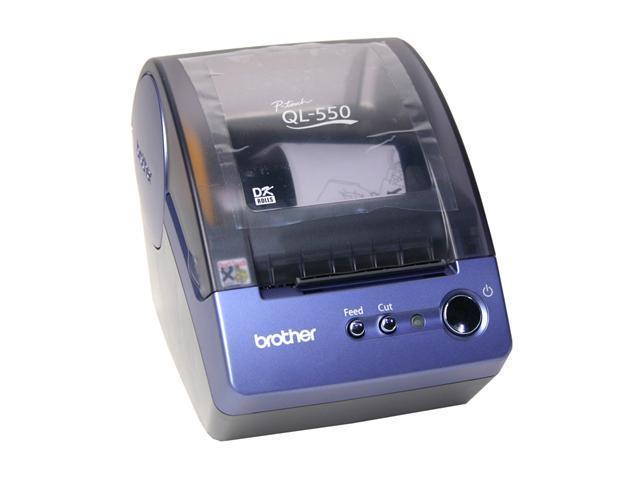 brother QL550 50 labels per min 300 dpi Label Printer