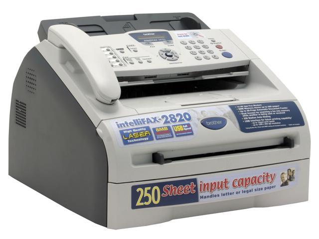 brother fax 2820 plain paper fax phone copier. Black Bedroom Furniture Sets. Home Design Ideas
