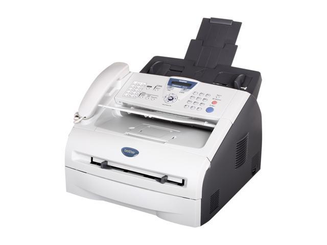brother fax 2820 14 4kbps small office home office laser fax. Black Bedroom Furniture Sets. Home Design Ideas