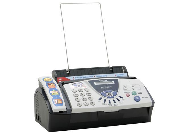 Brother FAX-575 9.6Kbps Ribbon Transfer Personal Plain Paper Fax, Phone & Copier