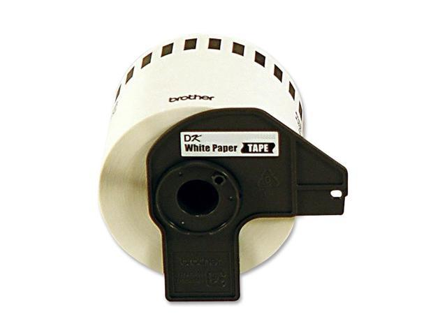 brother DK2211 Black on White Continuous Length Film Tape