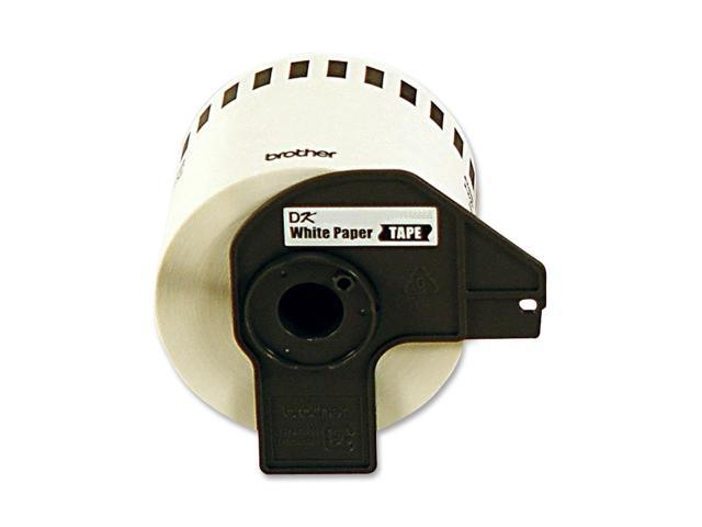 brother DK4605 Black/Yellow Removable Continuous Length Paper Tape