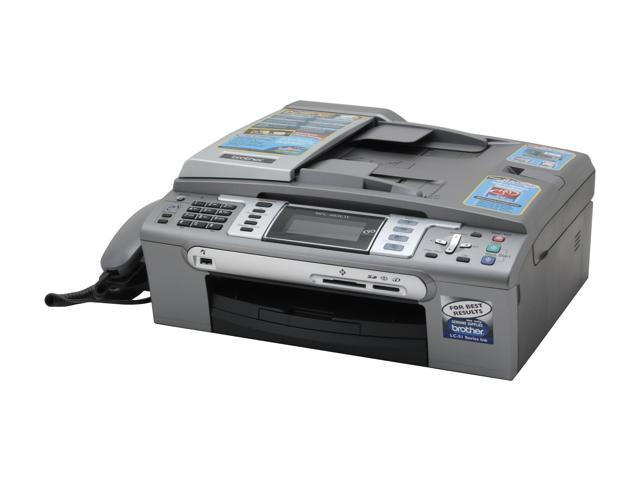 Brother MFC series MFC-685CW Up to 30 ppm Black Print Speed 6000 x 1200 dpi Color Print Quality Wireless InkJet MFC / All-In-One Color Printer