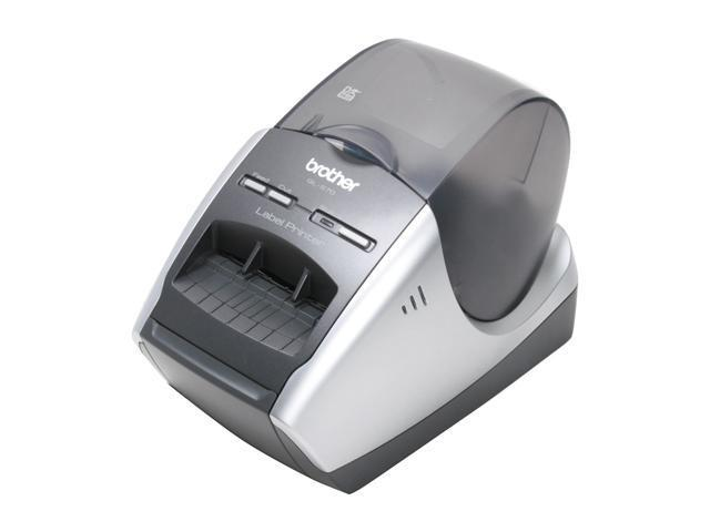 Brother QL-570 Up to 68 labels per min. 300 x 600 (Superfine mode) Professional Label Printer