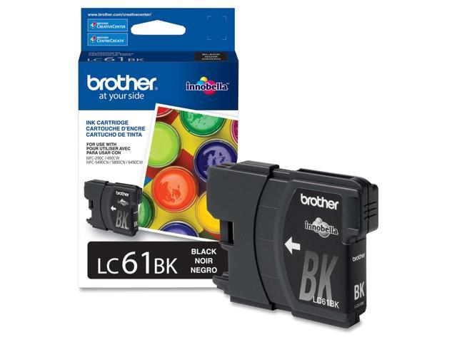 brother LC61BKS Standard Yield Ink Cartridge For MFC-6490CW Black