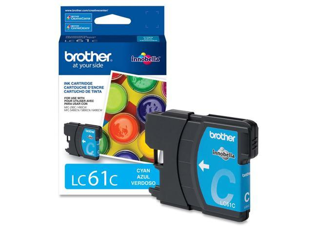 brother LC61CS Standard Yield Ink Cartridge For MFC-6490CW Cyan