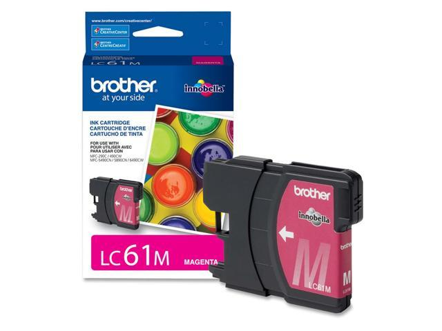 brother LC61MS Standard Yield Ink Cartridge For MFC-6490CW Magenta