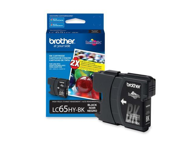 brother LC65HYBKS High Yield Ink Cartridge For MFC-6490CW Black