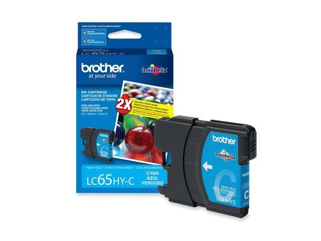 brother LC65HYCS High Yield Ink Cartridge For MFC-6490CW Cyan