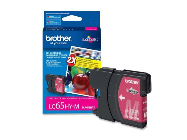 brother LC65HYMS High Yield Ink Cartridge For MFC-6490CW Magenta