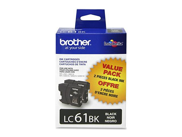 brother LC612PKS Ink Cartridge For MFC-6490CW Printer Black