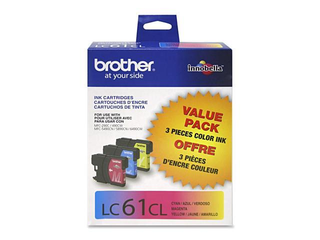 Brother LC613PKS Ink Cartridge For MFC 6490CW Printer Cyan